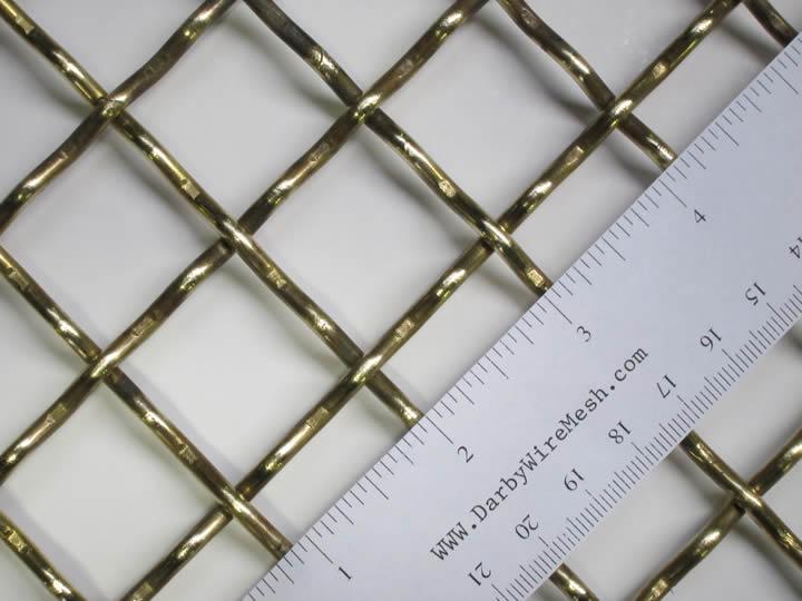 Brass Decorative Mesh | Thai Hua Wire Mesh Co., Ltd.