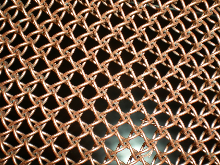 unique texture variety of colors durability and flexibility metal wire mesh fabric offers a modern decoration style for construction - Decorative Mesh